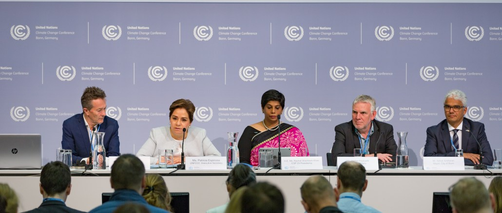 Plans for UN Climate Change Conference COP23 in Bonn in November on Track | Photo source: 23rd Session of the Conference to the Parties (COP23)