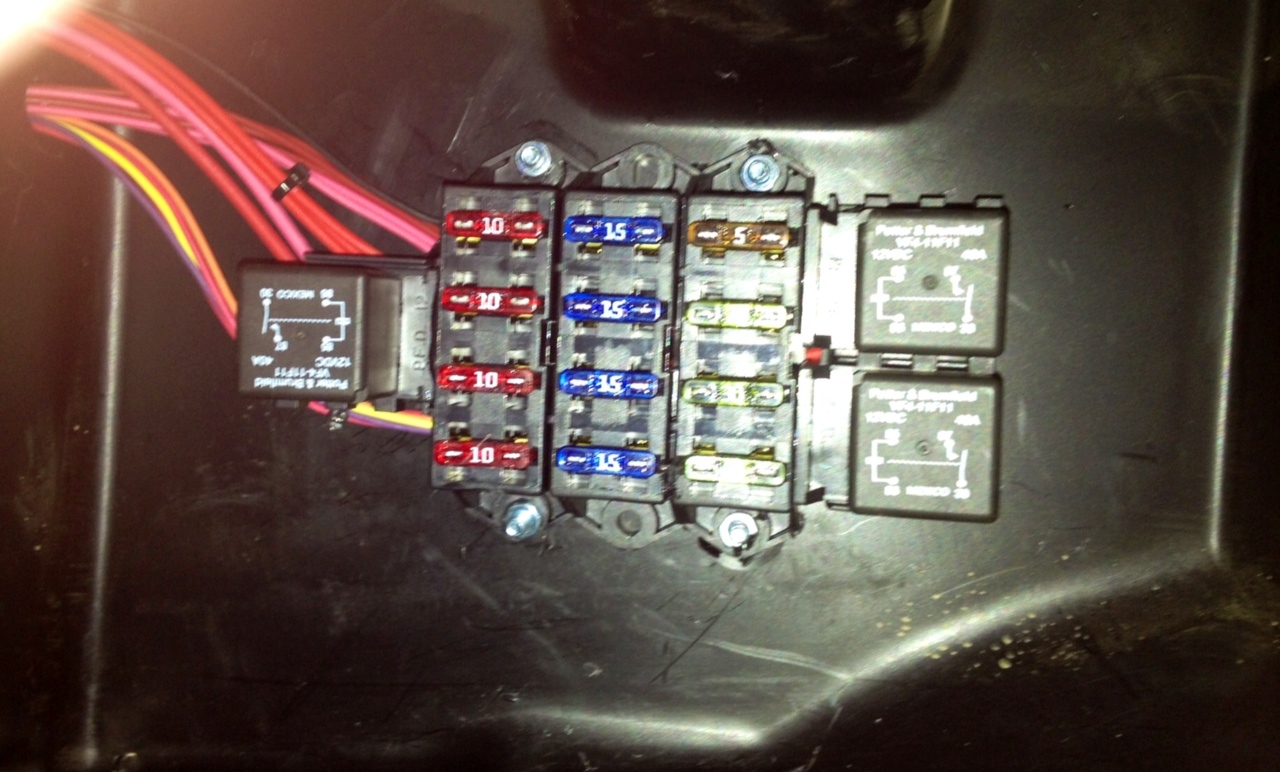 Rzr Fuse Box Auto Electrical Wiring Diagram Color Ford Coded1979 Polaris Xp 1000 Buildup