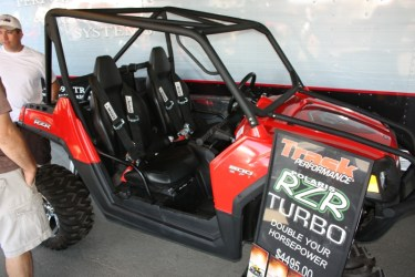 Polaris RZR with Turbo