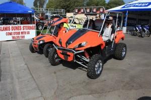 Kawasaki Teryx and Polaris RZR 170
