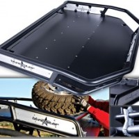 Baja Roof Rack with Full Shade Cover from Blingstar