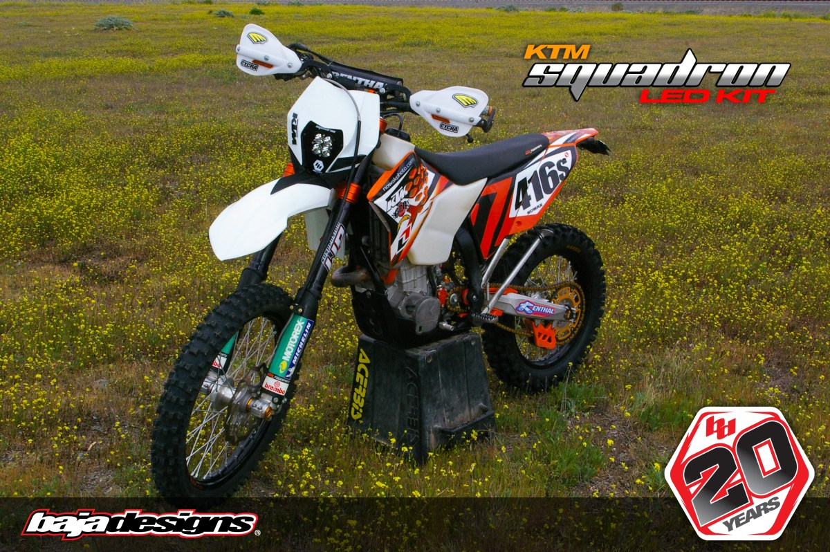 New Product - Baja Designs KTM Squadron LED Light
