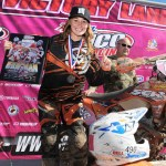DeLong & Martinez top Ironman GNCC podium