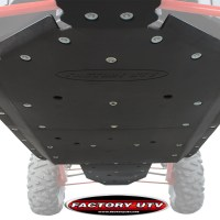 Factory UTV - Polaris RZR XP4 1000 UHMW Skid Plates