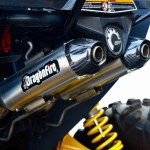 NEW DragonFire By Vance & Hines Dual Slip-On Exhaust For The Can-Am Maverick & Maverick Max