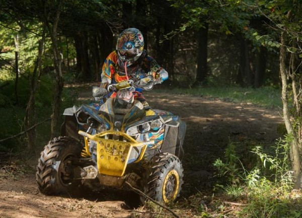 Bryan Buckhannon (ATV Parts Plus / Can-Am) finished second overall behind Smith in the 10 a.m. session and in the 4x4 Pro ranks to extend his points lead over second place.