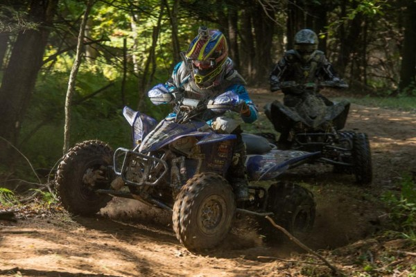 Dave Simmons won the Super Senior (45+) class at round 11 of the GNCC series running ITP Holeshot GNCC tires on his Yamaha ATV.