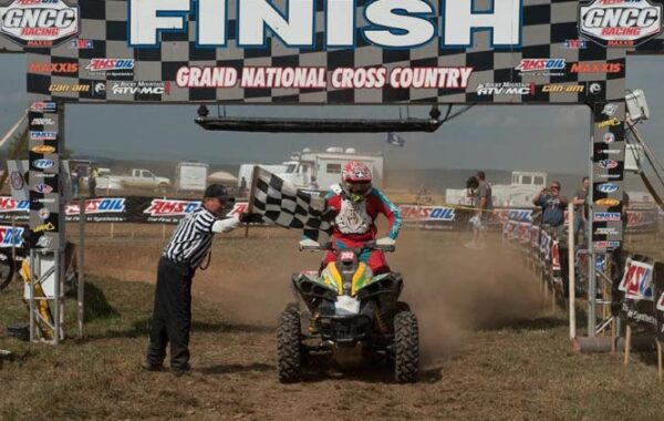 Robert Smith notched his second 4x4 Pro class win of the year aboard his BNR / Can-Am X-Team Renegade 800R 4x4 with a victory at round 11 of the GNCC series.
