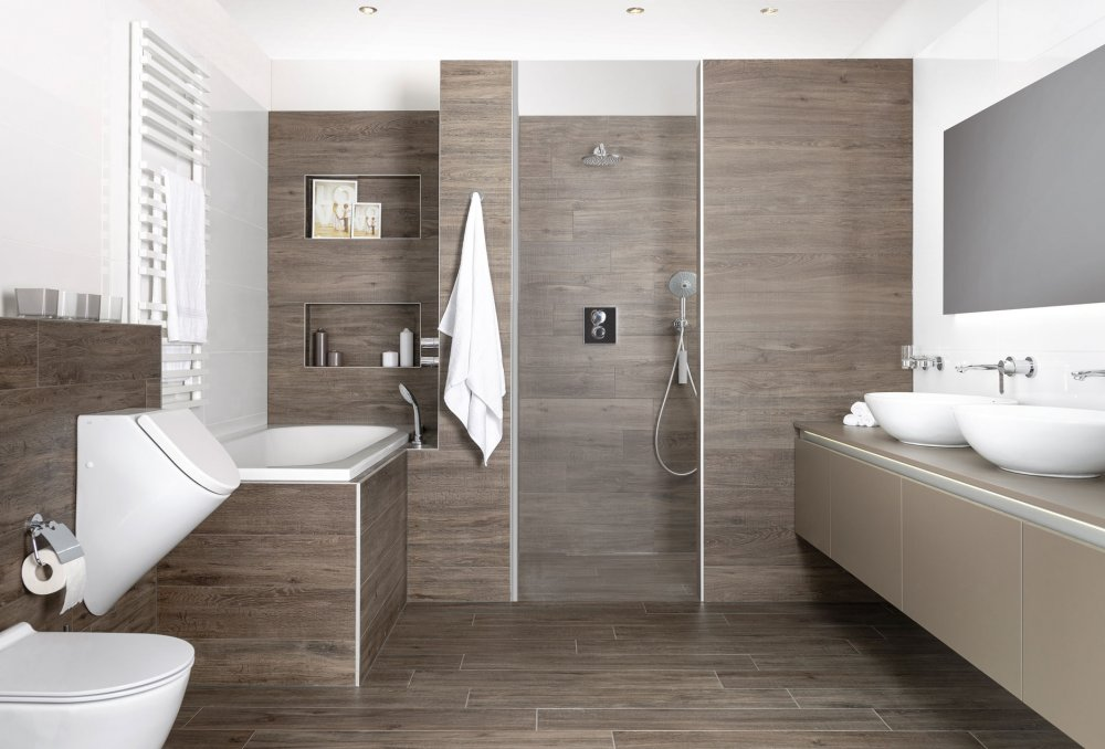 Decoratie Tegels Badkamer : Tegels badkamer intekenen travertin fliesen im badezimmer