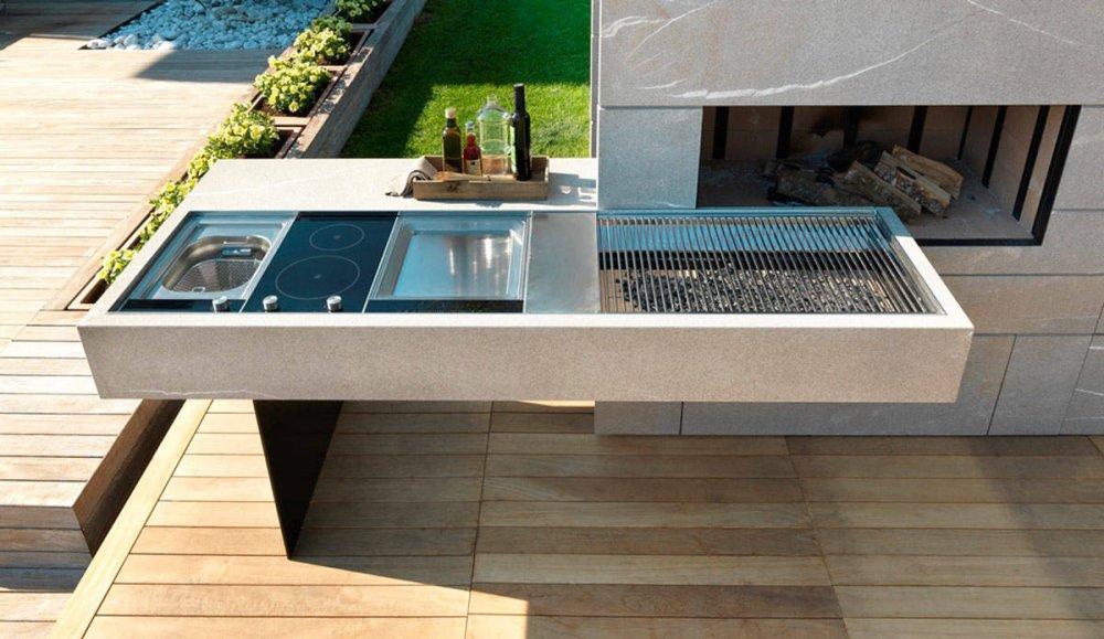 Moderne buitenkeuken stijlvolhout nl