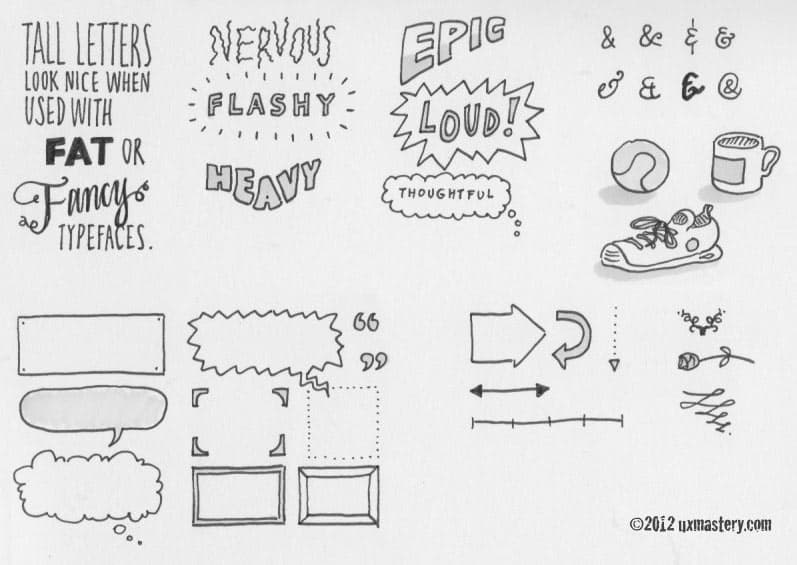 Sketchnoting 101 How To Create Awesome Visual Notes \u2013 UX Mastery