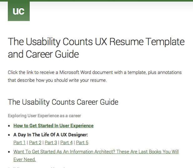 UX Is A Career \u2013 UX Mastery