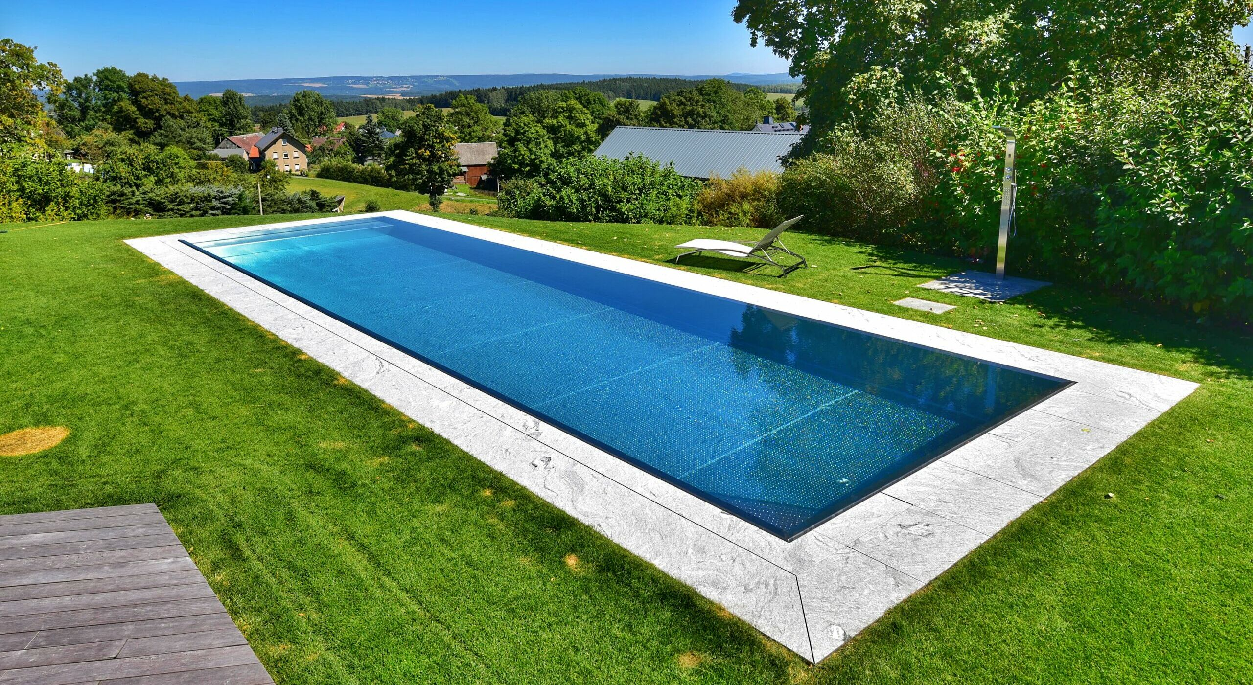 Pool Edelstahl V-lux Pool - Edelstahlpools - Made In Germany