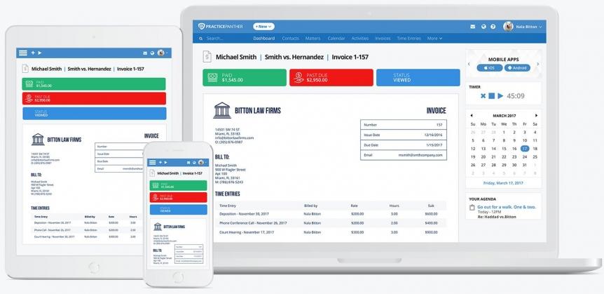 1 Legal Billing Software PracticePanther