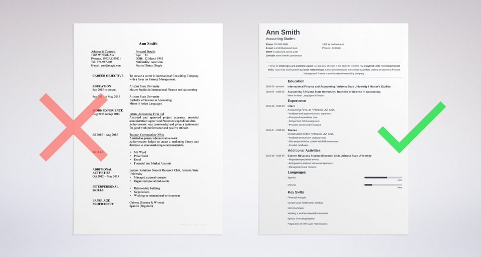 These CV Template Can Get You Any Job Download Free CV Templates
