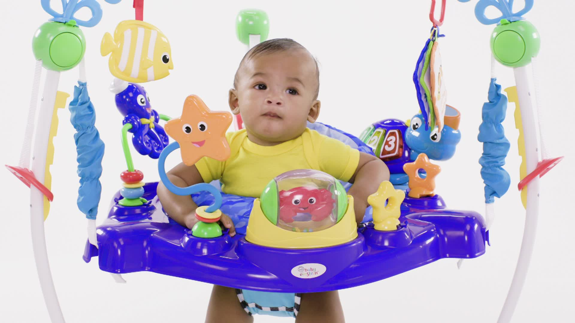 Baby Einstein 3 In 1 Jumper And Activity Mat Colors Of The Ocean Baby Einstein Neptune 39s Ocean Discovery Jumper Bed Bath