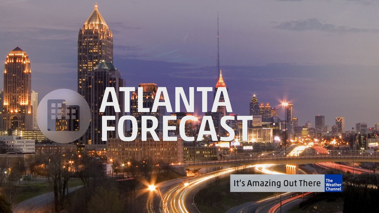 weather channel forecast atlanta