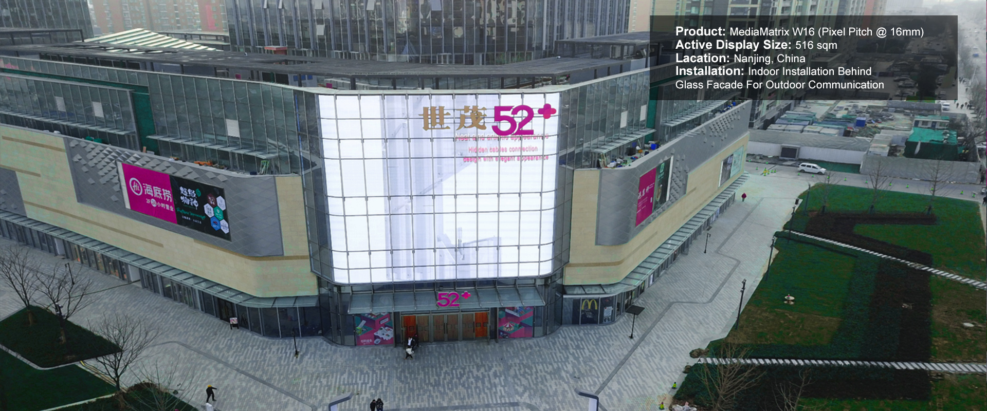 Led Wall China Transparent Led Display Led Glass Wall Glass Led Display