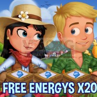 Farmville 2 Wednesday Gift of FREE Energy for May 4