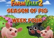 Farmville 2 Fourth Week Pig Season