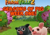 Farmville 2 Seasons of Pig First Week Guide