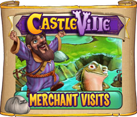 Castleville Merchant Visits Quests