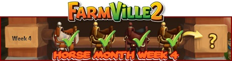 Farmville 2 Horse Month Week 4