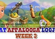 Appaloosa Logjam Week 3