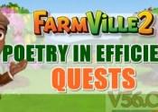 Farmville 2 Poetry in Efficiency