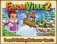 B&B Holiday Makeover Quest