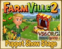 Farmville 2: Puppet Show Stage Preview