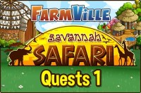 Farmville: Savannah Safari Quests 1