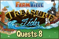 Farmville: Treasure Tides Quests 8 Guide