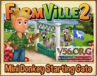 Farmville 2: Mini Donkey Starting Gate Preview