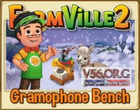 Farmville 2 Gramophone Bench