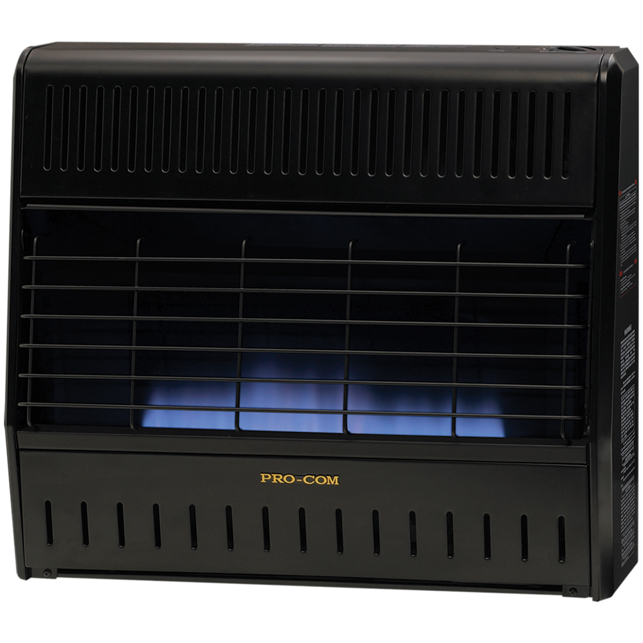 Garage Heater With Wall Thermostat Ventless Dual Fuel Blue Flame Garage Heater 30 000 Btu