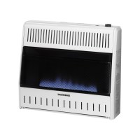Dual Fuel Blue Flame Ventless Wall Heater - 30,000 BTU ...