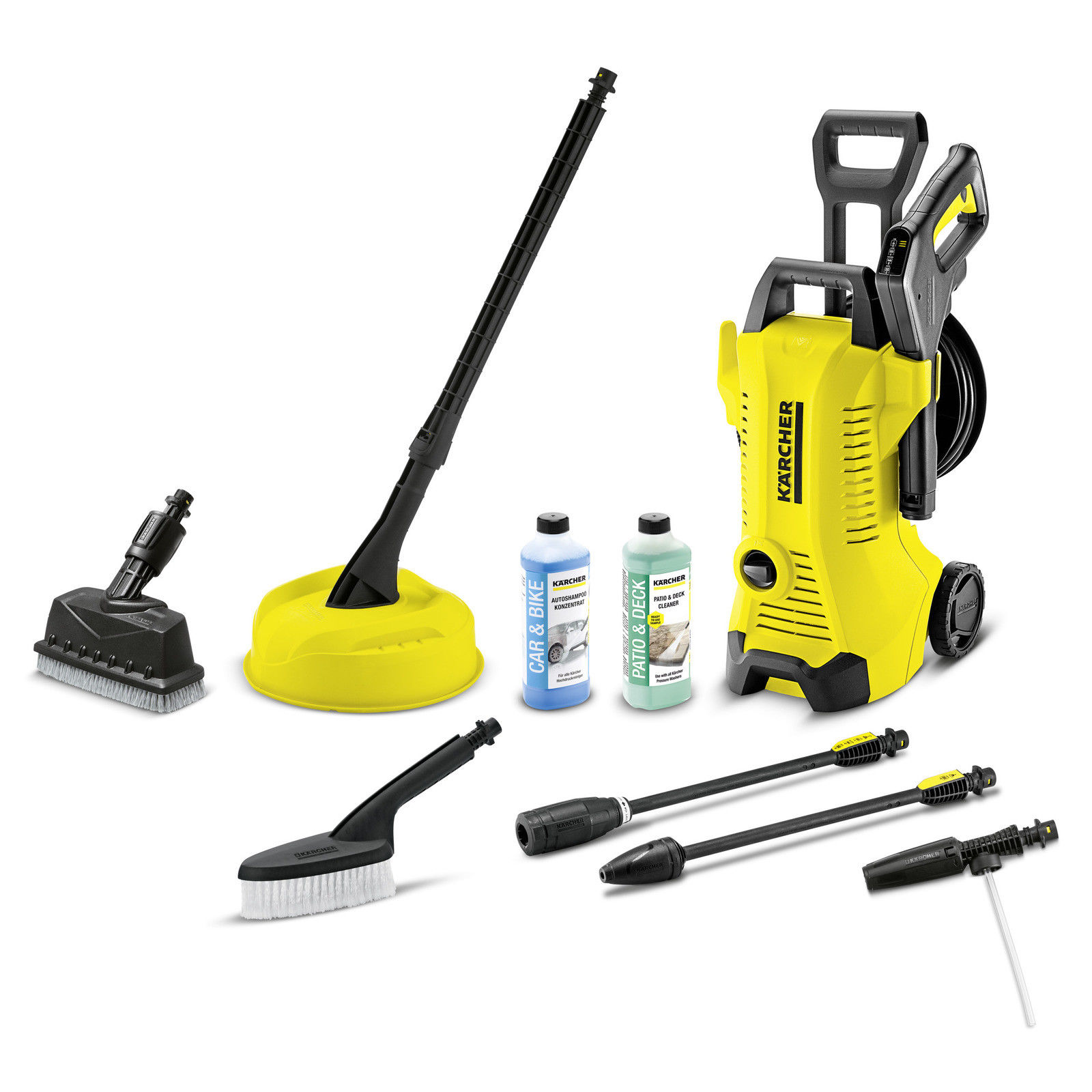 Karcher K7 Premium Full Control Home Karcher K3 Premium Pressure Washer Full Control Car Home Deck