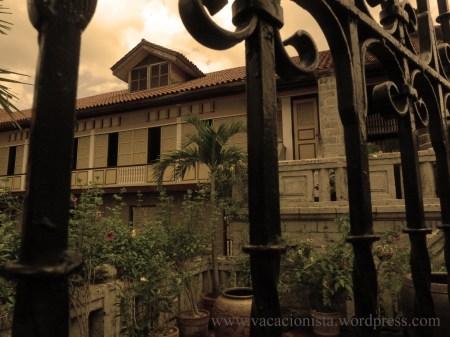 Inside Casa Manila Intramuros