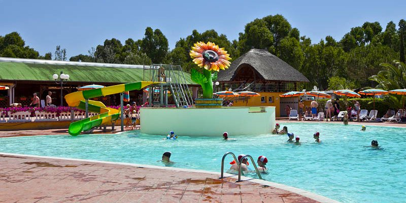 Camping Toscane Met Zwembad Glijbaan Camping Free Time - Italië - Vacansoleil