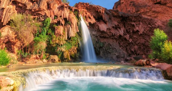 Havasu Falls Arizona Wallpaper Things To Do In Arizona Havasu Falls