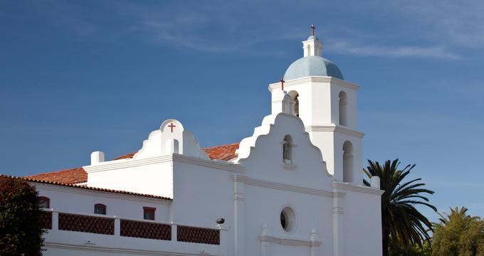 Old Mission San Luis Rey in Oceanside, California