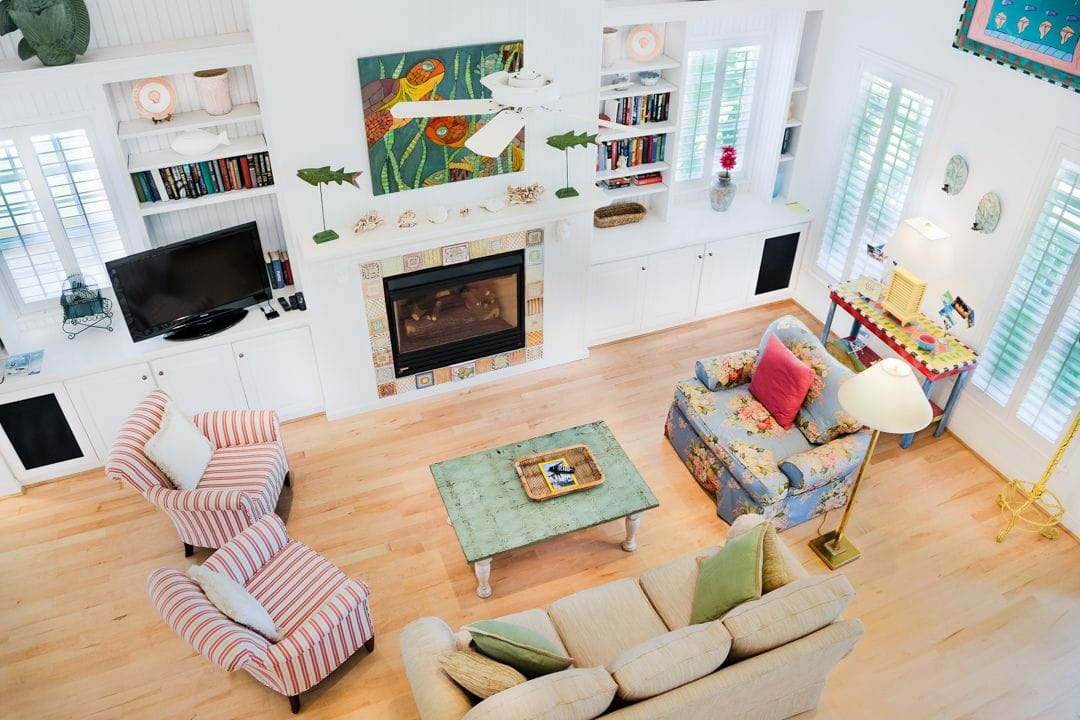 Bu0027s Captiva House - SanibelCaptivaNews - living room property management