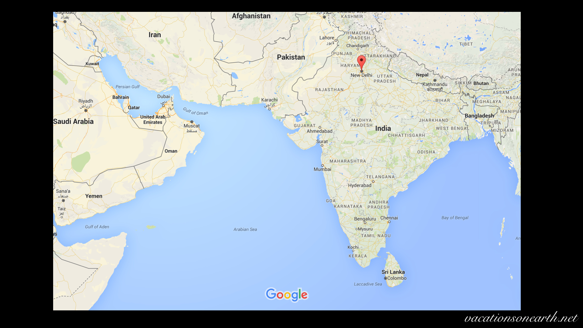 Delhi India Map | Powerpoint Map Of India India States And Districts on