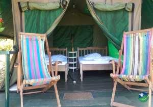 Corcovado Adventures Tent Camp Bedroom