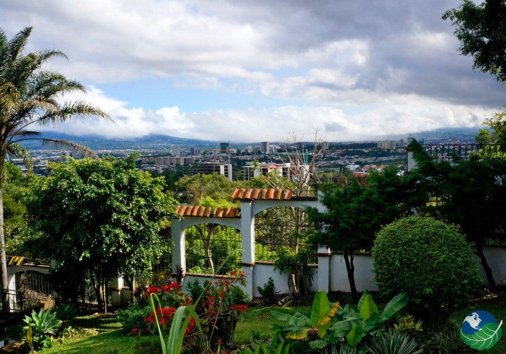 Escazu Costa Rica garden
