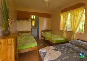 Hotel Rancho Corcovado Three Bed Bedroom