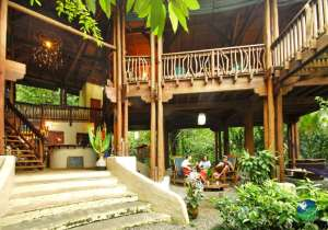 Playa Nicuesa Lodge Reception