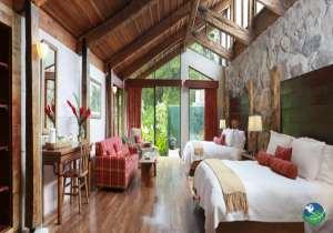 Poas Volcano Lodge Two Bed Bedroom