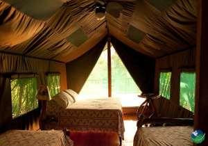 Rafiki Safari Lodge Bedroom